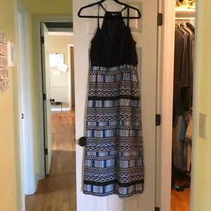 Jcrew maxi blue size 6 medium